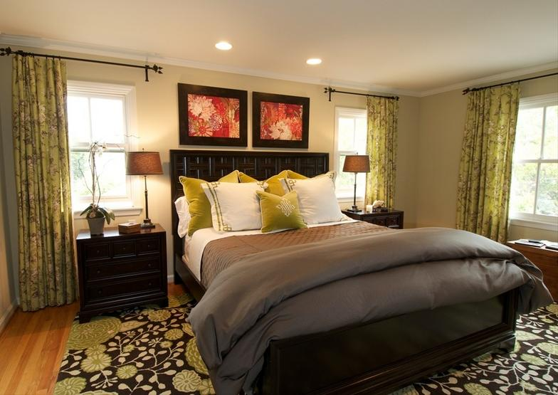 Georgia caparis interior design traditional design for Traditional master bedroom designs